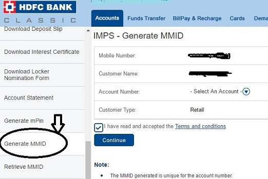 How to generate MMID for HDFC Bank ? [3 Methods]