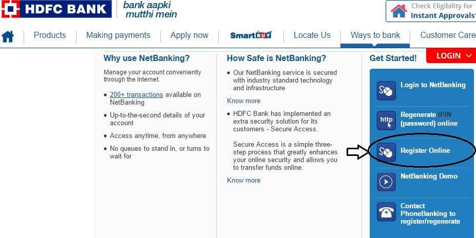 How to Activate Net Banking in HDFC Bank? [4 Methods]