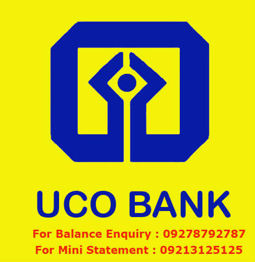 UCO Bank Missed Call Balance Enquiry Number/ Get Mini Statement Through Mobile