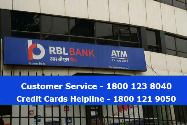 RBL Bank 24×7 Customer Care Number, Email ID & Toll Free Helpline Numbers