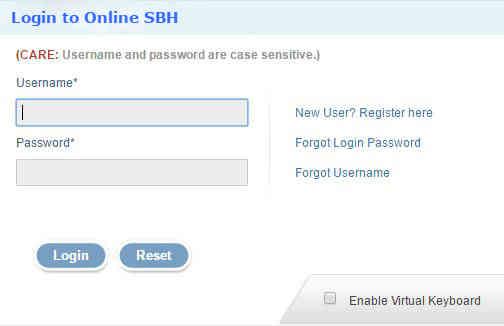 SBH online balance check
