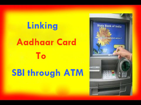 How to Link Aadhaar Card to SBI Account