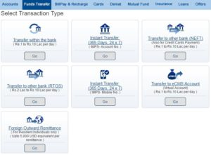 Funds Transfer - Others- HDFC BANK