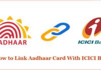 How to Link Aadhaar Card With ICICI Bank Account