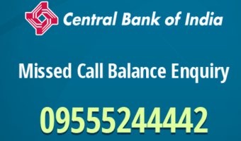 Central Bank Of India Account Balance Enquiry Using Missed Call