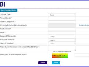 register complaint online sbi