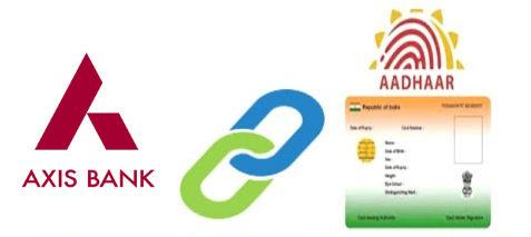 How To Link Aadhaar Card With Axis Bank Account
