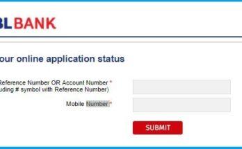 Track RBL Credit Card Application Status Online