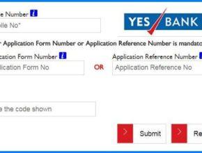Yes Bank Credit Card Application Status