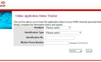 hsbc credit card status - track your online application status